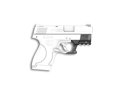 Recover Tactical SHR9 Compatible with The Smith & Wesson Shield 9mm and SW40 Picatinny Rail - Easy Installation, No Modifications Required to Your Firearm, no Need for a Gunsmith