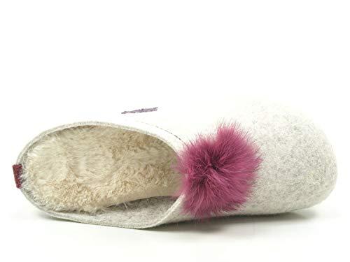 320526 Manitu 320526 Pantofole Grau Grau Manitu Manitu 320526 Donna Pantofole 320526 Donna Donna Manitu Grau Pantofole Pantofole w1At4q