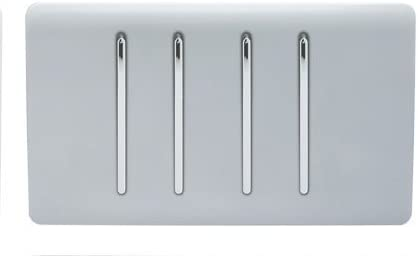 Trendi Interrupteur /à bascule 3 voies Blanc brillant 10 A