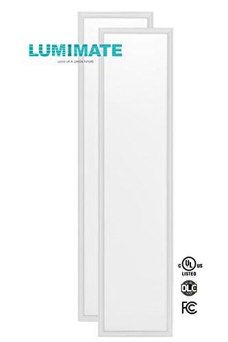 Lumimate 12x48 Inch 45w Ultra Thin Glare-Free Edge-Lit 5000k
