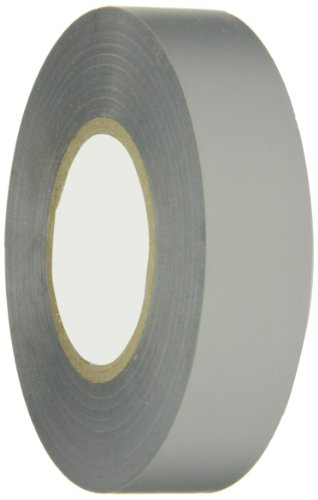 Berry Plastics PVC General Purpose Electrical Tape, 7 mil Thick, 66' Length, 3/4'' Width, Gray by Berry Plastics (Image #1)
