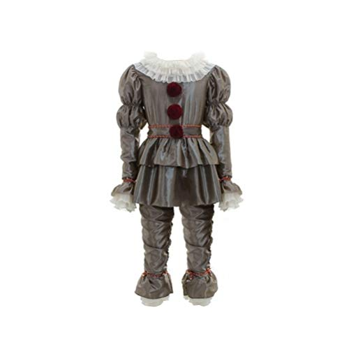 Pardobed It The Clown Kids Pennywise Costume Halloween Outfit Silver