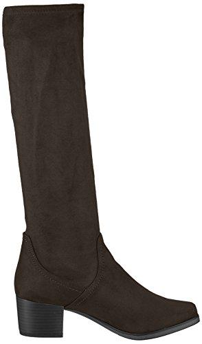 Caprice Dames Laarzen Zwarte Slip 25506 (44)