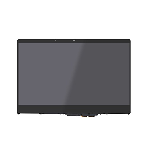 (LCDOLED 15.6 inch FullHD 1080P N156HCA-EA1 IPS LCD Display Touch Screen Digitizer Assembly + Bezel for Lenovo Yoga 710 710-15ISK 710-15IKB 80U0 80V5 5TD50K85364 5D10K81093 (NOT for Screen LP156WFA))