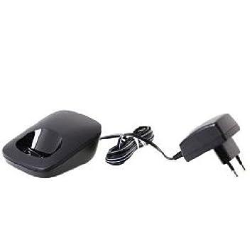 Gigaset - Base cargador para teléfono E49H, color negro ...