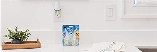 Renuzit Snuggle Scented Oil Plugin Air Freshener, Combo Pack ,6 Refills + 2 Warmers, Linen Escape Combo