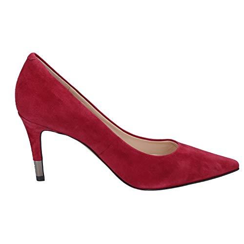 Zapatos Salón Gamuza Mujer De Borgoña Guess gxqC7wgd