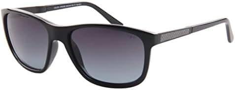 SojoS TR90 Shatterproof Carbon Fiber Polarized Lens Sunglasses for Men and Women