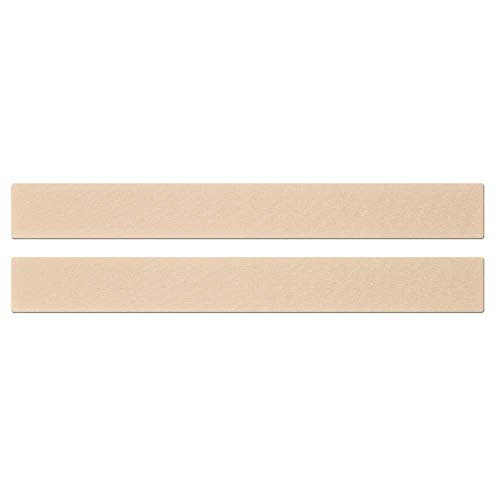 Epi-Derm Long Strip - 1.4 x 11.5 in - (1 Pair) (Natural) Silicone Scar Sheets from Biodermis (Tummy Tuck Device)