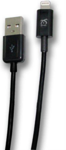 Symtek iPhone 7/6/6s/PLUS MFI Certified Lightning Charging Cable, Black, TP-MFI-105