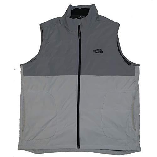 The North Face Men's Sweatshirt Full Zip Vest (Grey, XX-Large)