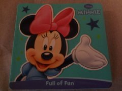 Foam Board Books - Disney Foam Covered Board Book ~ Minnie Mouse: Full of Fun