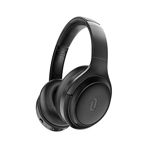 chollos oferta descuentos barato TaoTronics Cascos Inalambricos Bluetooth 5 0 Auriculares con Active Cancelación de Ruido Hi Fi Sonido Estéreo CVC 6 0 con Micrófono Integrado 30 Horas de Reproducir ANC Carga rápida para PC TV Móvil