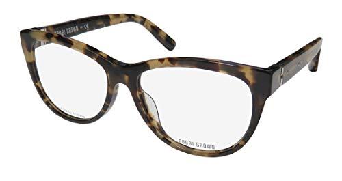 Bobbi Brown The Lily Womens/Ladies Cat Eye Full-rim Gorgeous Eyeglasses/Eyewear (54-15-135, Camel Tortoise)