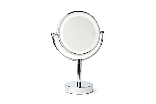 Vanity Planet Gleam Dual-Sided 1X/7X Magnifying Mirror with 3 LED Light Settings Review
