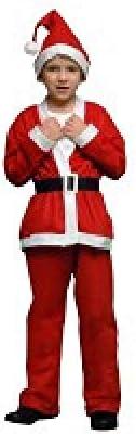 Atosa-69213 Atosa-69213-Disfraz Papá Noel niño infantil-talla 10 a ...
