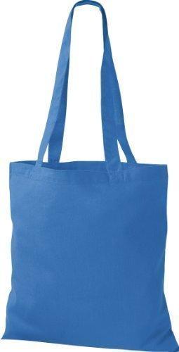 Bolsa algodón de Bolsa Premium bandolera Comprador ShirtInStyle tela Cielo de muchos de Azul colores Bolso de Bolsa IxFHw