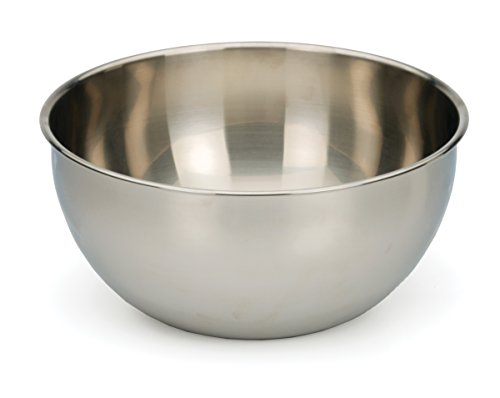 - RSVP Endurance 18/8 Stainless Steel 6-Quart Mixing Bowl