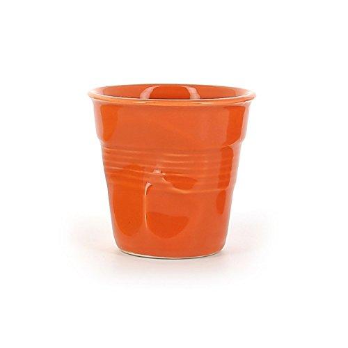 Revol Froisses 640681 Cappuccino Crumple Tumbler, Clementine