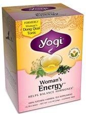 Yogi Tea, l'énergie de la femme, sans caféine, 16 sachets de thé, 1,02 oz (29 g)