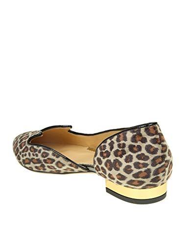 Mujer Terciopelo Charlotte P185976a08122 Leopardo Olympia Mocasín H1HPZEn