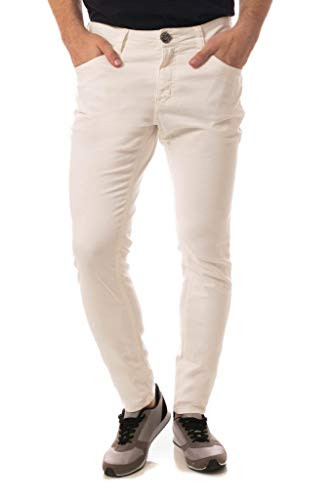 Calça Jeans Eventual Super Skinny Off White 40
