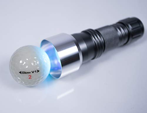GlowGear 24 LED UV Flashlight Golf Ball Charging -
