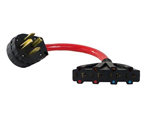 conntek nema 14-30p 30 amp 4 prong dry plug to u.s. 15/20 ... 3 prong 50 amp plug wiring diagram 4 prong 30 amp plug wiring diagram