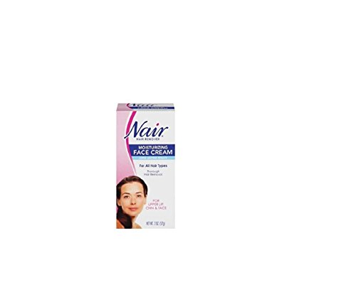Nair Hair Remover Moisturizing Face Cream 2 oz (Pack of 9)