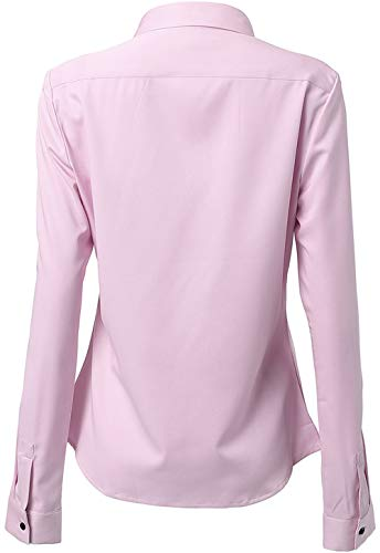 9ec37623bb FLY HAWK Womens Dress Shirts