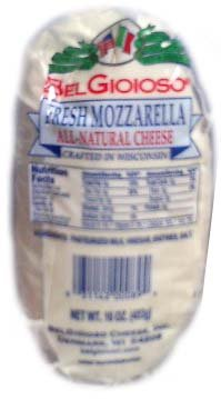 Fresh Mozzarella (BelGioioso) 2 x 16oz (453g) 2 PK - Fresh Mozzarella