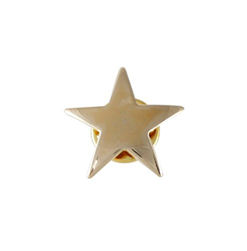Pin Gold Lapel Star (Gold Star Lapel Pin- 1 Piece)
