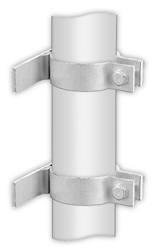 Pipe Post Mounting Brackets (Single Sign) by Signs Direct