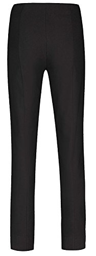 Robell - Pantalones elásticos, corte ajustado (# ICH WILL MARIE!) negro