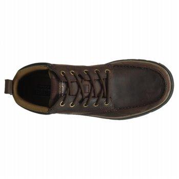 Skechers, Stivali uomo marrone Brown
