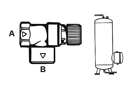 1//2 Zoll Cornat T593713 Sicherheitsventil 3.0 bar