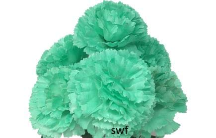 145-Carnations-Silk-Wedding-Flowers-Bridal-Bouquets-Centerpieces-Home-Party-Decorations-6-Carnations-Mint