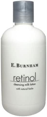 Retinol Cleansing Milk Lotion For Face With Natural Herbs 8 Oz.