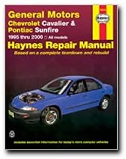 chevrolet cavalier pontiac sunfire 1995 2005 haynes repair rh amazon com Auto Repair Manual Haynes Wiring Diagrams