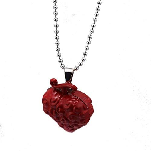 one piece ace necklace - 8