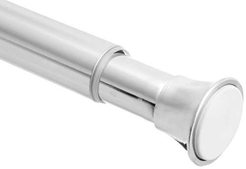 AmazonBasics Tension Shower Doorway Curtain Rod, 54-90