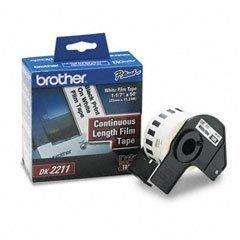 Brother White Film - DK2211 BROTHER BR DK2211 TAPE, WHITE FILM 1.1