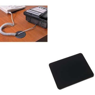 KITIVR52448MAS00202 - Value Kit - Master Caster Adjustable Grommet (MAS00202) and Innovera Natural Rubber Mouse Pad (IVR52448) ()