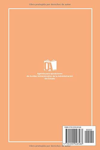 Agenda para Opos de Aux. Administrativo: Oposiciones a la ...