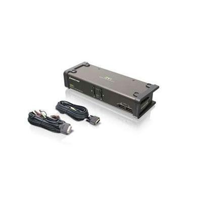 Iogear 2-port Dvi Kvmp Swtch W/cable (gcs1102) - by Iogear
