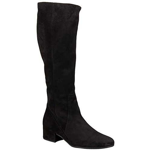 Gabor Womens Tunis 72.816.47 Black Suede Boots 8.5 - Gabor Women Boots