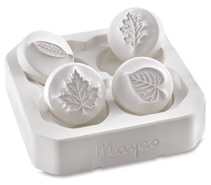 Mayco Press Tools - Set of 4, Leaf Designs