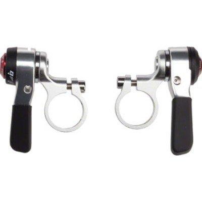 MicroShift Flat Bar DoubleTriple 9 speed Thumb Shifters