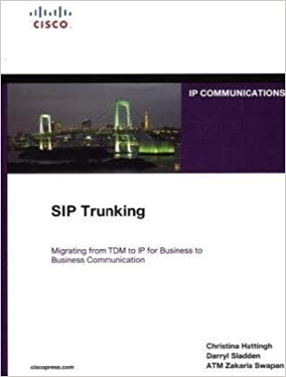 Buy SIP Trunking (Networking Technology Series) Book Online at Low