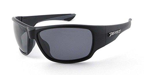 Peppers Mens Overturn LP5701-1 Polarized Wrap Sunglasses